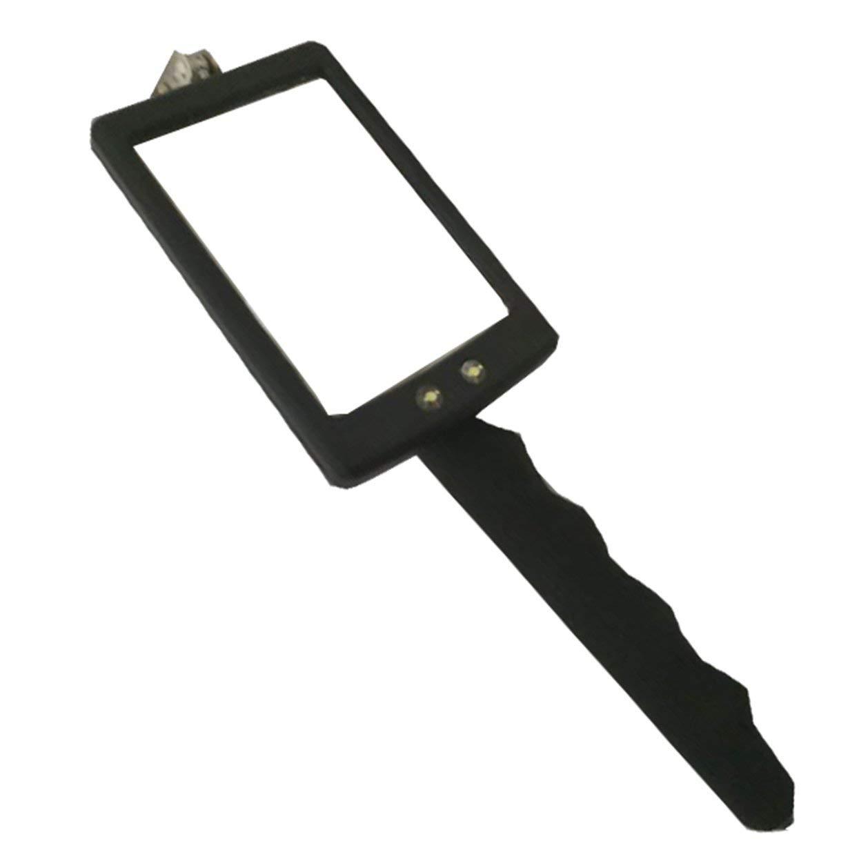 Tree-on-Life Miroir dinspection Flexible t/élescopique avec /éclairage LED Lumineux pivotant /à 360 /° pour Un Outil dobservation Automobile portatif