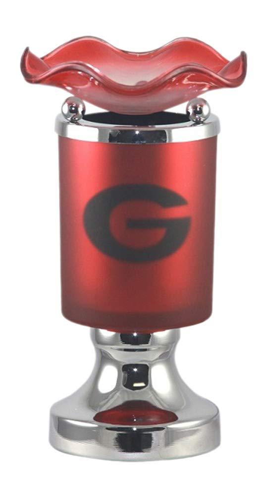 L&V Tart Burner Oil Warmer Electric Touch Georgia Bulldogs University of Georgia