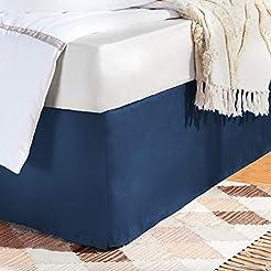 AmazonBasics Pleated Bed Skirt