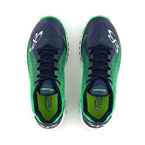 Scarpe Da Calcio Turf Per Uomo - 14 Opzioni Di Colore: Più Taglie Navy / Verde Lime