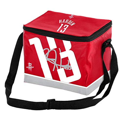 Forever Collectibles NBA Player Zippered Lunch Bag (James Harden #13 Houston Rockets)