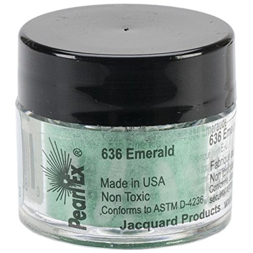 Pigmento Jacquard Pearl Ex 3gr. Esmeralda
