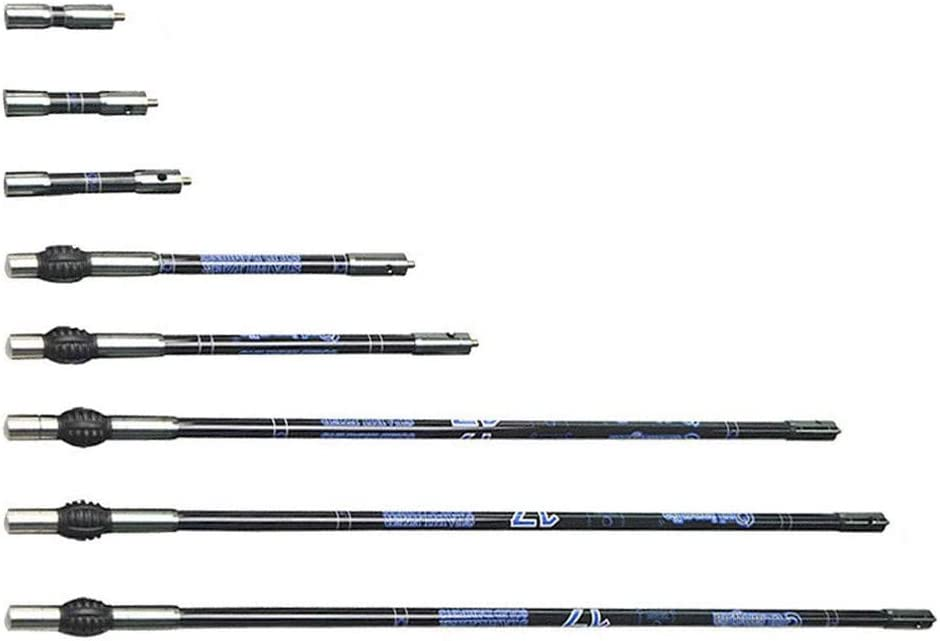 6 Zoll Archery Stabilizer Extender Compoundbogen Kohlefaser Gummi Balance