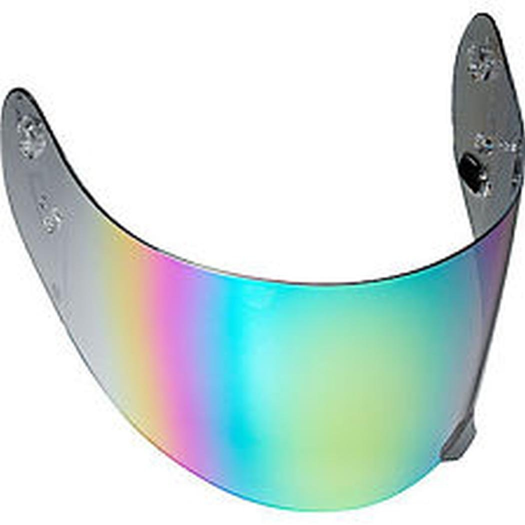 HJC RST Shield HJ-09 CS-R1 CL-17 Road Race Motorcycle Helmet Accessories Color: Mirror Rainbow FS-15 CL-ST