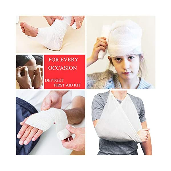 Th-some JAANY Botiquín de Primeros Auxilios de artículos, Survival Tools Mini Box Kit Bolsa Médica para Emergencias para… 5