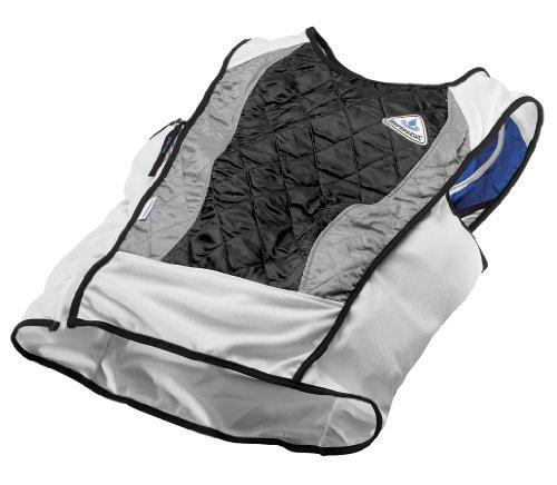 HyperKewl Evaporative Cooling Ultra Sport Vest, Black, Large - Hyperkewl Hyperkewl Evaporative Cooling