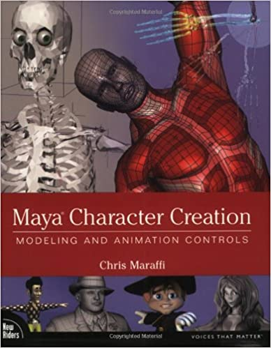 Maya Character Creation: Modeling and Animation Controls