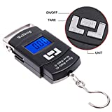 scales electronic - Smileto 110lb/50kg Portable Electronic Scale
