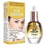 Eye Serum,Under Eye Cream,Anti Wrinkle Eye Serum,Anti Ageing Eye Serum,Hydrating Eye Serum,For Dark Circles, Puffiness - Reduces Wrinkles, Bags, Saggy Skin & Puffy Eyes Great Eye Treatment