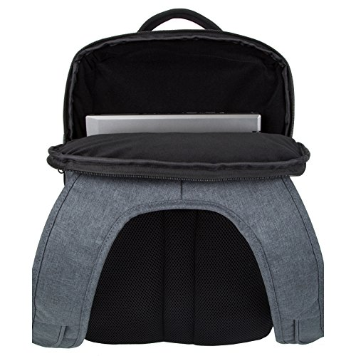 51eqMO5kWGL - Travelon Anti-Theft Urban Backpack, Slate