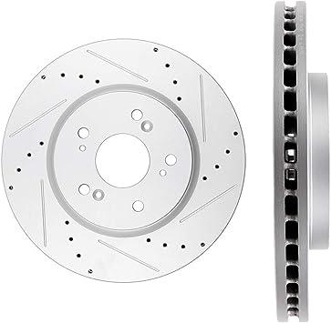 Front 296 mm Quality Brake Disc Rotors For Honda Accord Crosstour CRV Acura RDX