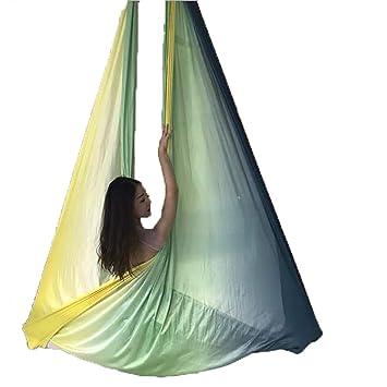 Juuz Aerial Hamaca de Yoga Gradiente Brillante Yoga Swing ...