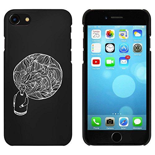 Noir 'Poupée' étui / housse pour iPhone 7 (MC00063439)