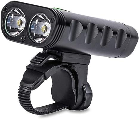 JYMDH Luces Delanteras De La Bicicleta USB Recargable LED Luz De ...