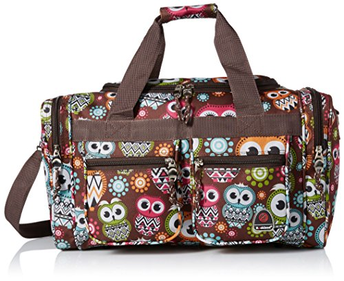 Rockland 19 Inch Tote Bag, Owl, One Size (Weekend Bag)