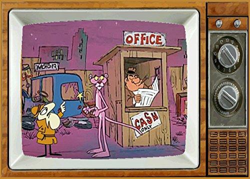 THE PINK PANTHER TV Fridge MAGNET 2