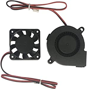 3D Printer Fan Blower Fan DC 24V 40x10 50x15 Extruder Cooling Fan (30cm) for Prusa i3 DIY Kit Eewolf