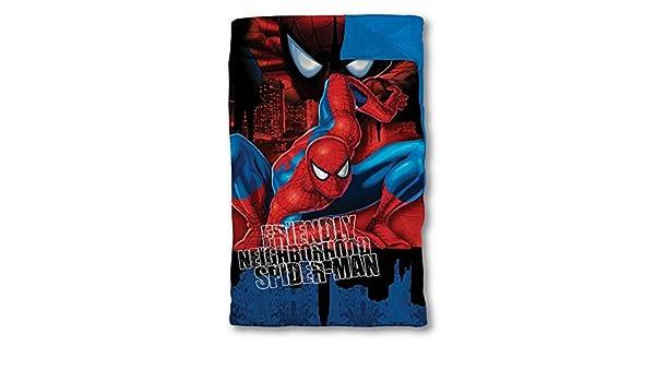 Ultimate Spider-Man saco de dormir dormir Marvel acogedor Spiderman: Amazon.es: Hogar
