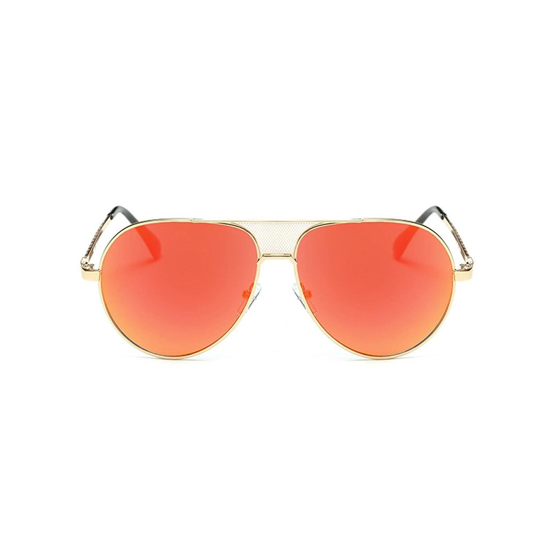 63eac71336 Bobury Hombre Gafas De Sol Pilot Mesh Puente Marco De Metal Mujeres  Gradiente Lente Gafas De