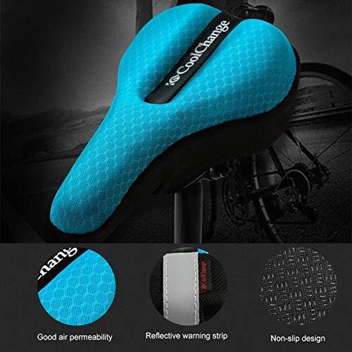 vivpro Silicone Gel Extra Soft Bicycle Bike MTB Saddle Cushion Seat Cover Pad Comfort by vivpro (Image #4)