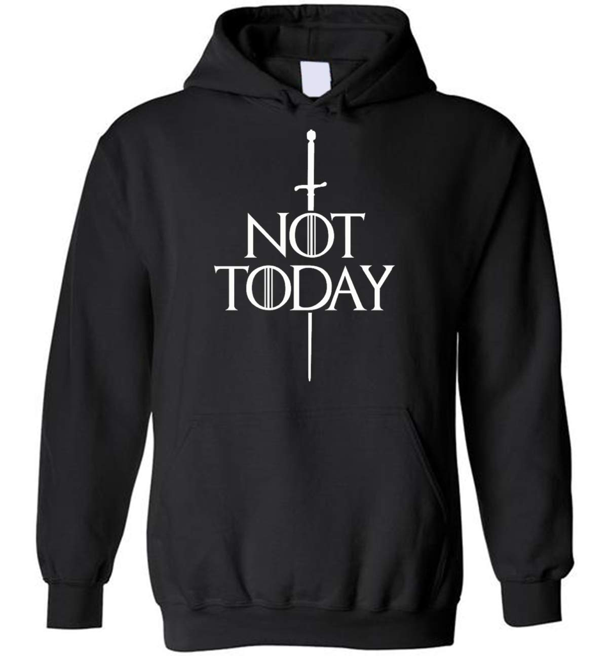 Not today Arya Said Fan gift Hoodies Sweatshirt Not Today Shirt What Do We Say To The God Of Death