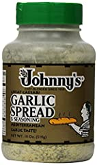 Blending premium parmesan cheese, garlic and other spices, Johnny's Garlic Spread is easy to use, versatile and a quick solution to spice up any Italian meal. Great on toasted French bread, it's also the perfect complement to pasta, potatoes,...