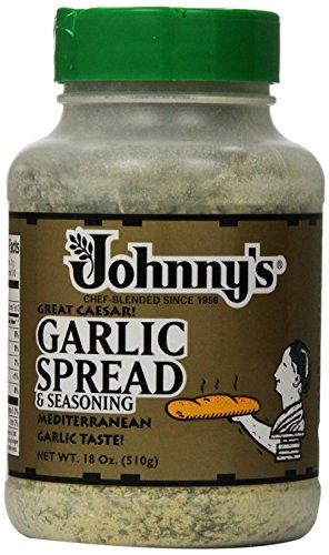 Johnny's Garlic Spread and Seasoning, 18 Ounce