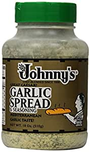 Johnny's Garlic Spread and Seasoning, 18 Ounce