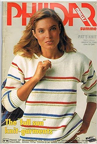 Phildar Mailles Summer Knitting Patterns No 90 Phildar Amazon