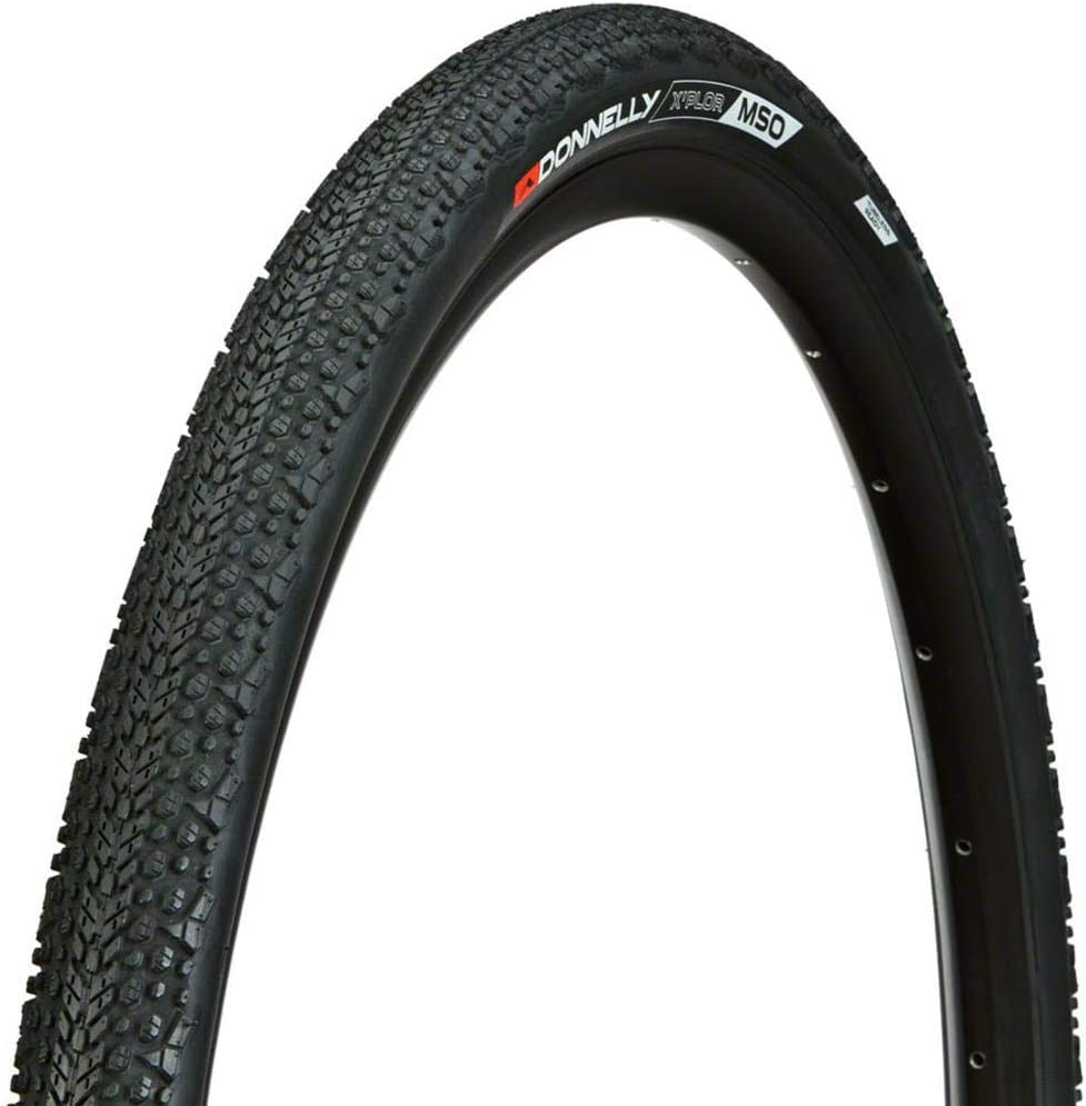 Donnelly Folding Tire Black XPlor MSO Clincher 650Bx42C 60TPI Tubeless Ready