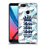 Official England and Wales Cricket Board Sweeping Claw 2018/19 Crest Patterns Soft Gel Case for ZTE Blade V9 Vita