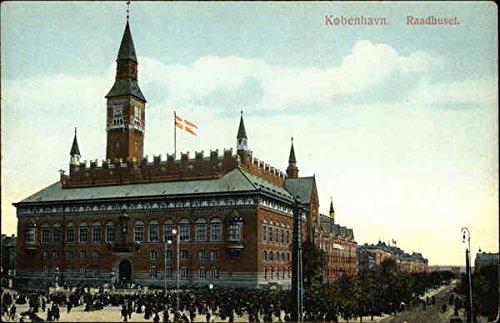 Raadhuset København, Denmark Original Vintage - Alex Denmark