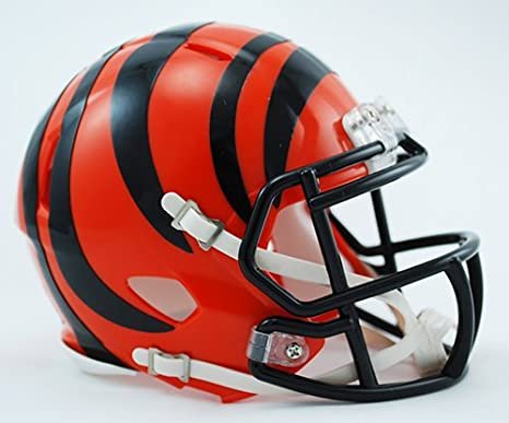 Cincinnati Bengals Riddell Speed Mini Football Helmet - New in Riddell Box