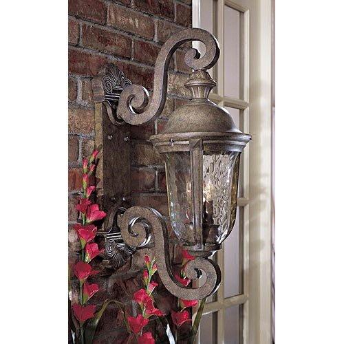 Minka Lavery Outdoor Wall Light 8991-61 Ardmore Exterior Wall Lantern, 40 Watts, Rust -