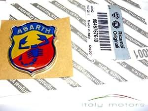 Original Fiat Stilo Abarth Texto Modelo caracteres Emblema trasero trasera - 46767640: Amazon.es: Coche y moto
