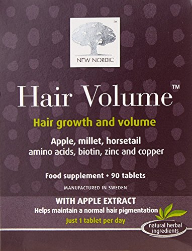 (2 PACK) - New Nordic Hair Volume Hair Tablet Supplement | 90s | 2 PACK - SUPER SAVER - SAVE MONEY by New Nordic