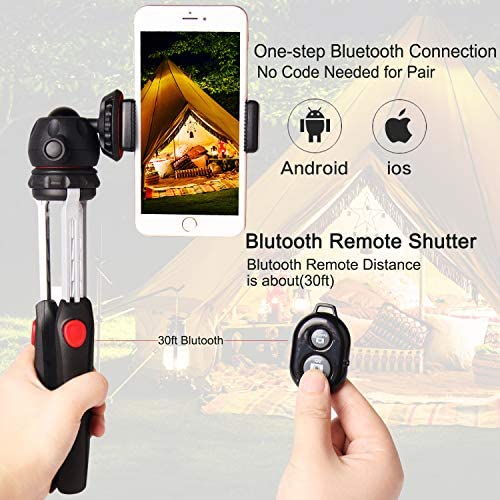 Rubsy Universal Tripod Stand Holder for Camcorder Live Phone Fishing Light Projector