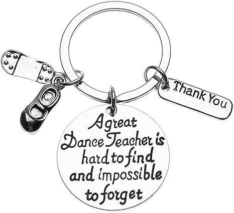 Amazon.com: Regalo para maestro de baile, llavero para ...