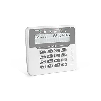 Amazon.com: Satel Versa-LCDM-WH LCD Keyboard, 2 Strips of 16 ...