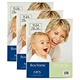 clear frames - MCS 11x14 Inch Box Frame, 3pk, Clear (65713)