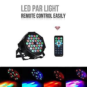 51eqSZKmziL. SS300  - LED-PAR36W-36LEDs-RGB-7-Beleuchtung-Modi-Disco-Lichteffekte-dj-party-Licht-Bhnenbeleuchtung-led-scheinwerfer-Fernbedienung-DMX-Steuerung-Discolicht-fr-DJ-KTV-Disco-Party