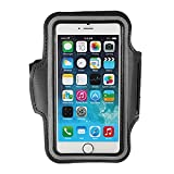 "Sport Gym Running Jogging Armband Case Cover Key Pouch Holder For 4.7"" iPhone 6 Black"