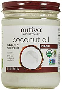 Nutiva Organic Virgin Coconut Oil - 14 Oz