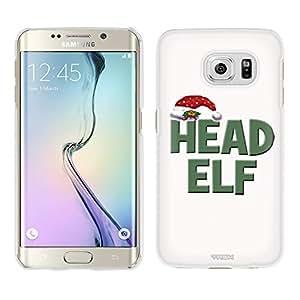 Samsung Galaxy S6 Edge Plus Case, Snap On Cover by Trek Head Elf on White Case