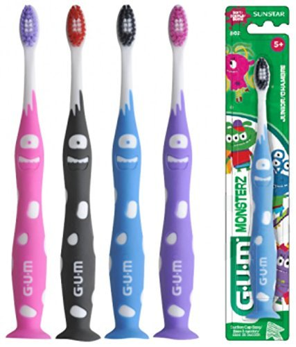 GUM Junior Monsterz Toothbrush (3 Pack) by GUM