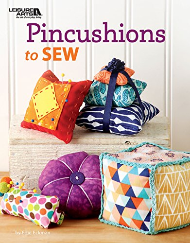 Leisure Arts Pincushions to Sew Bk