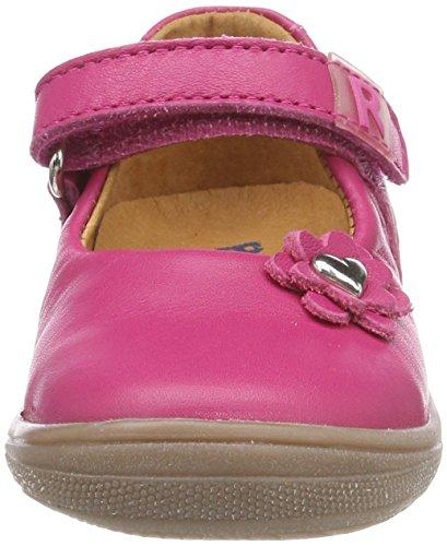 Richter Kinderschuhe Mädchen Regina S Riemchenballerinas Pink (Passion)