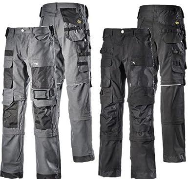 Utility Diadora VIG 3 in 1 Black Long Work Trousers + 2
