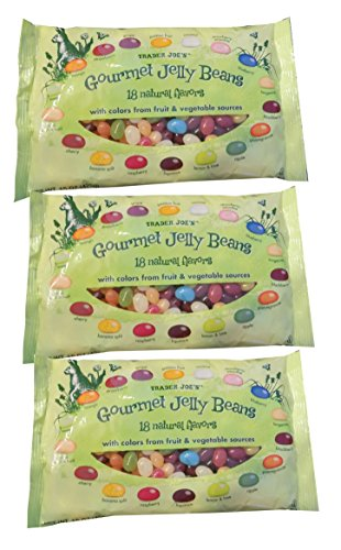Trader Joe's Gourmet Jelly Beans 18 Natural Color & Flavors