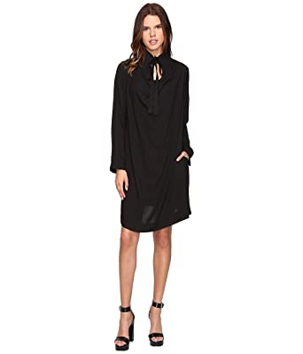 1a613fcb2be Amazon.com: Vivienne Westwood Women's Tondo Dress Black Dress: Clothing
